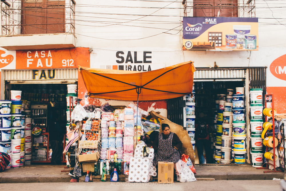Things to do in La Paz - Shop in the local markets