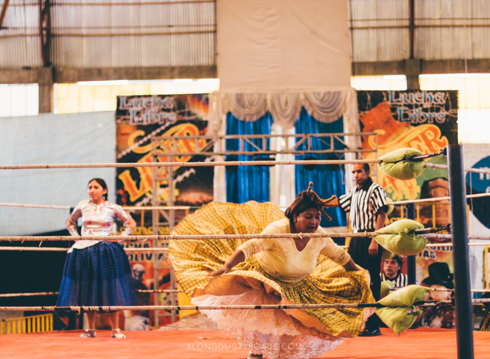 Things to do in La Paz - Go to Cholita Wrestling, La Paz, Bolivia