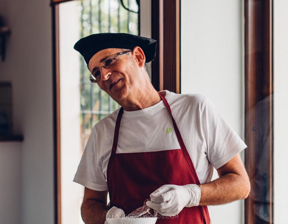 Mi Paella en el Huerto, Valencia Cooking Class Paella, Spain