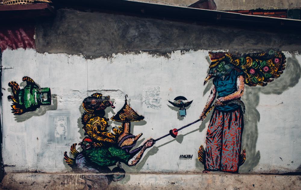Street art, Yogyakarta, Indonesia