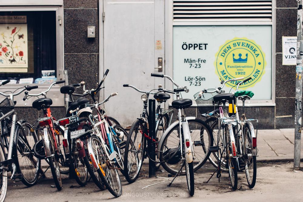 Bicycles, Stockholm, Sweden
