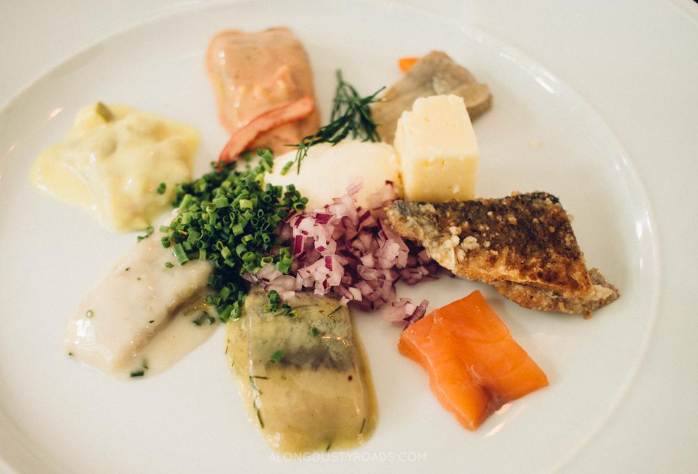 Pickled herring, Sweden