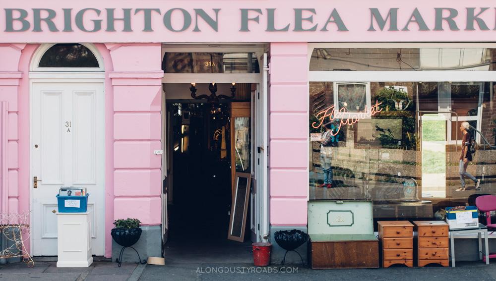 Vintage store, Brighton, England
