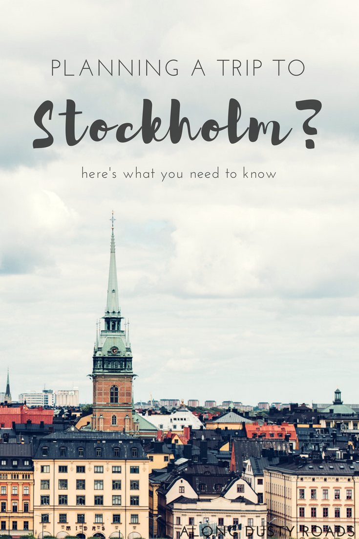 Planning a trip to Stockholm? You really need to know these 14 incredibly useful things before you go! Click on pin to discover more.