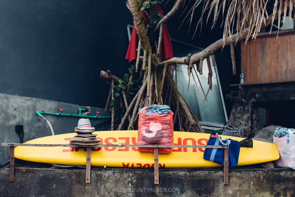 Beach stall, Bali, Indonesia