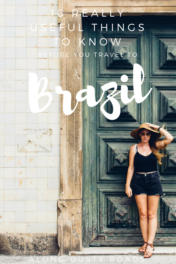 Here are 16 increibly useful things to know BEFORE you travel to Brazil!