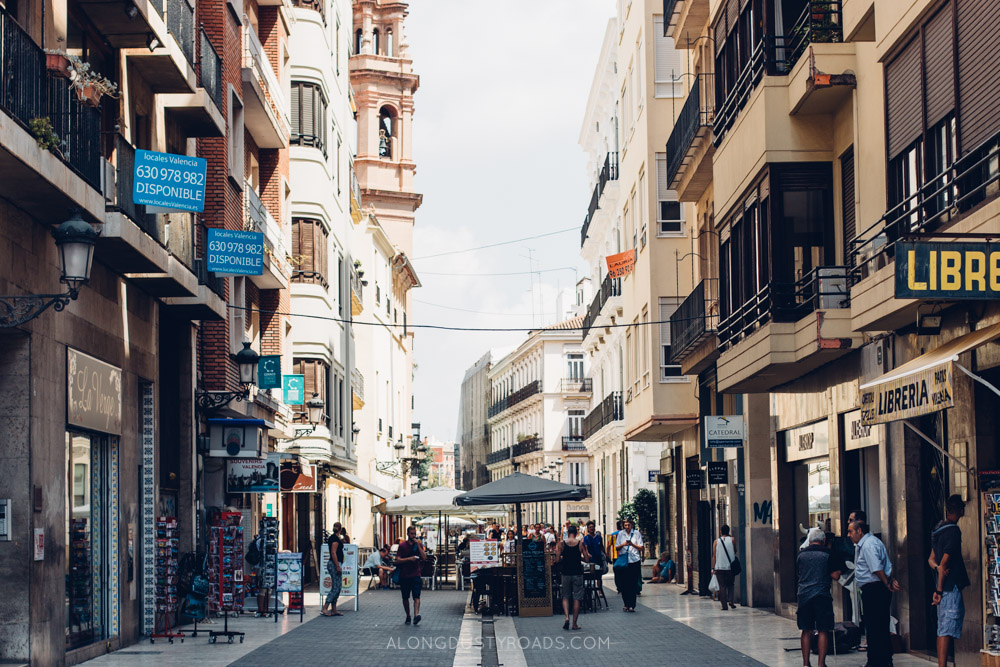 Old town, Valencia, Spain - One of our favourite things to do in Valencia.