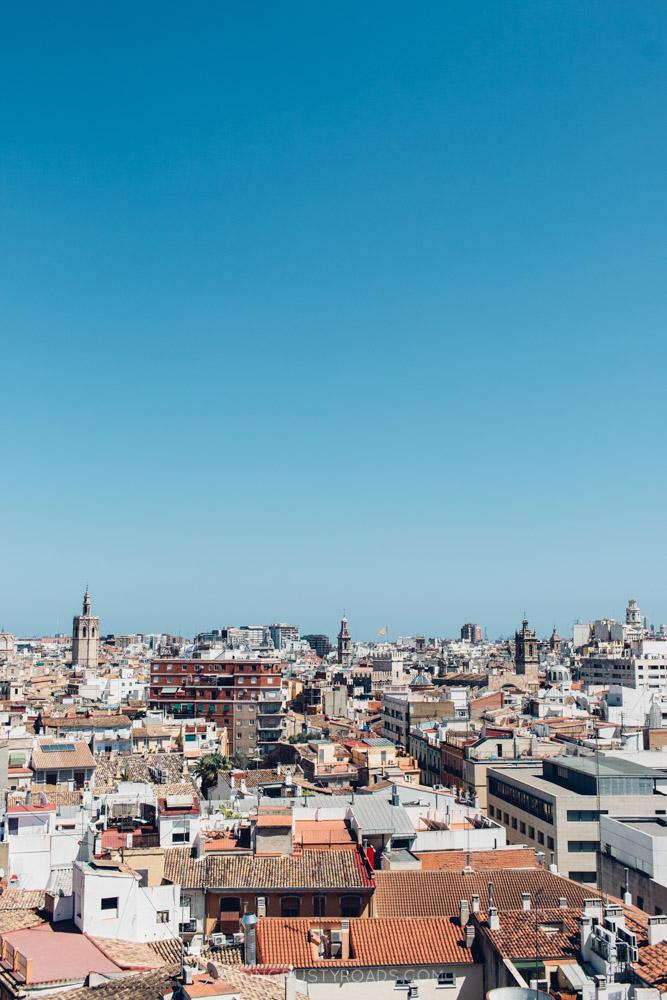 View from Las Torres de Serranos, Valencia