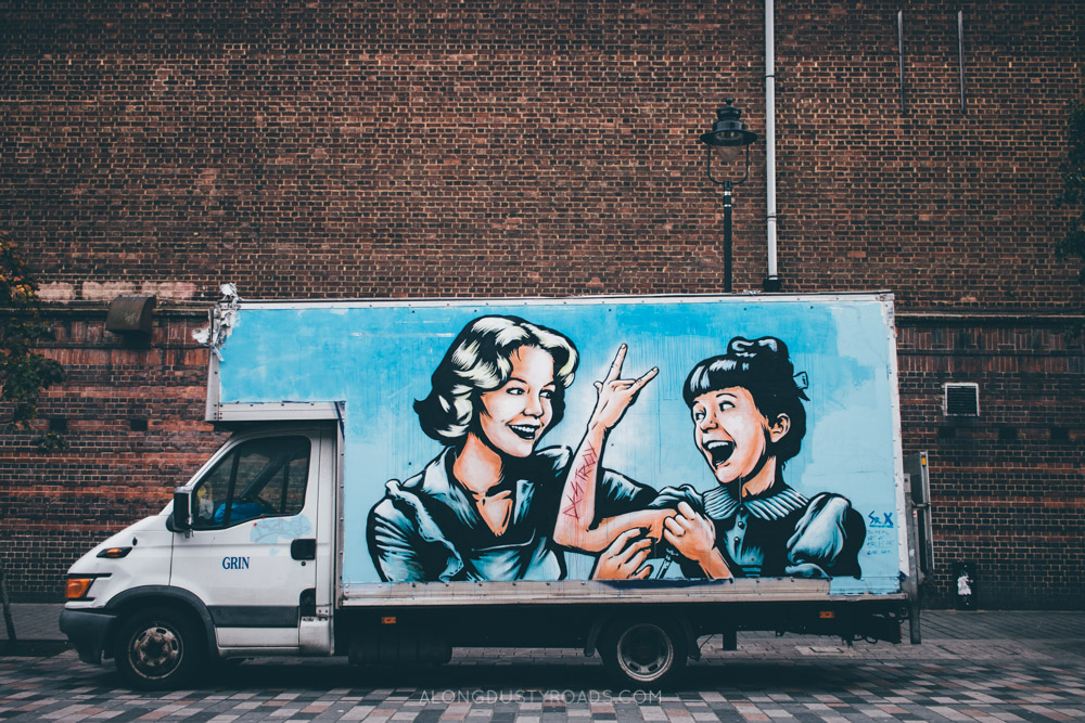 Camden Street Art Tour, London