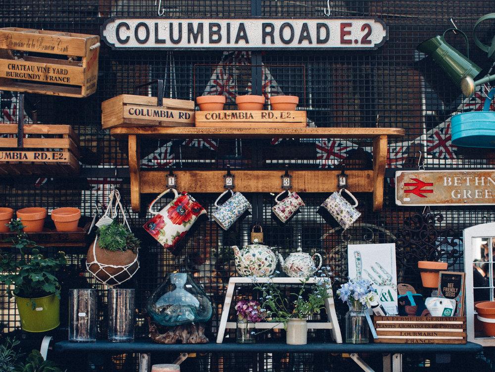 Columbia Road Flower Market - London