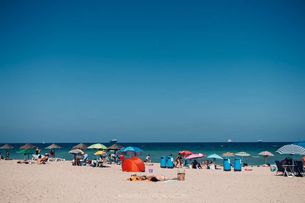 Beautiful beaches in Valencia - One of our favourite things to do in Valencia.
