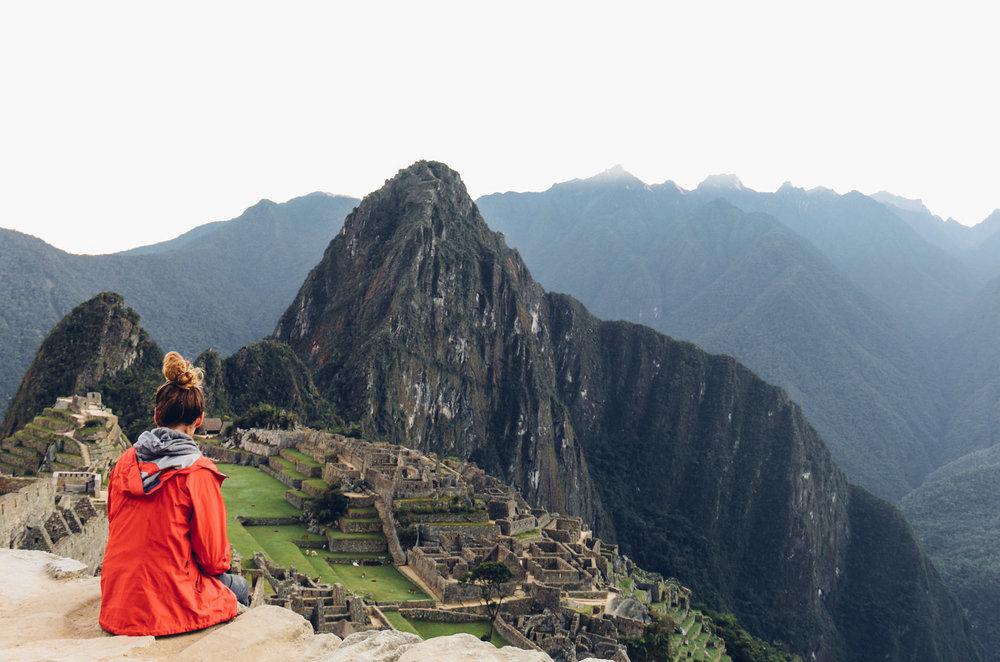 Peru ruins - Machu Picchu, Peru