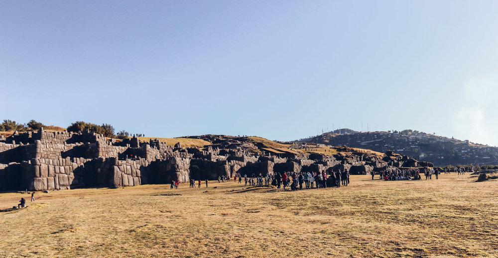 Peru ruins - Sacsayhuamán, Peru