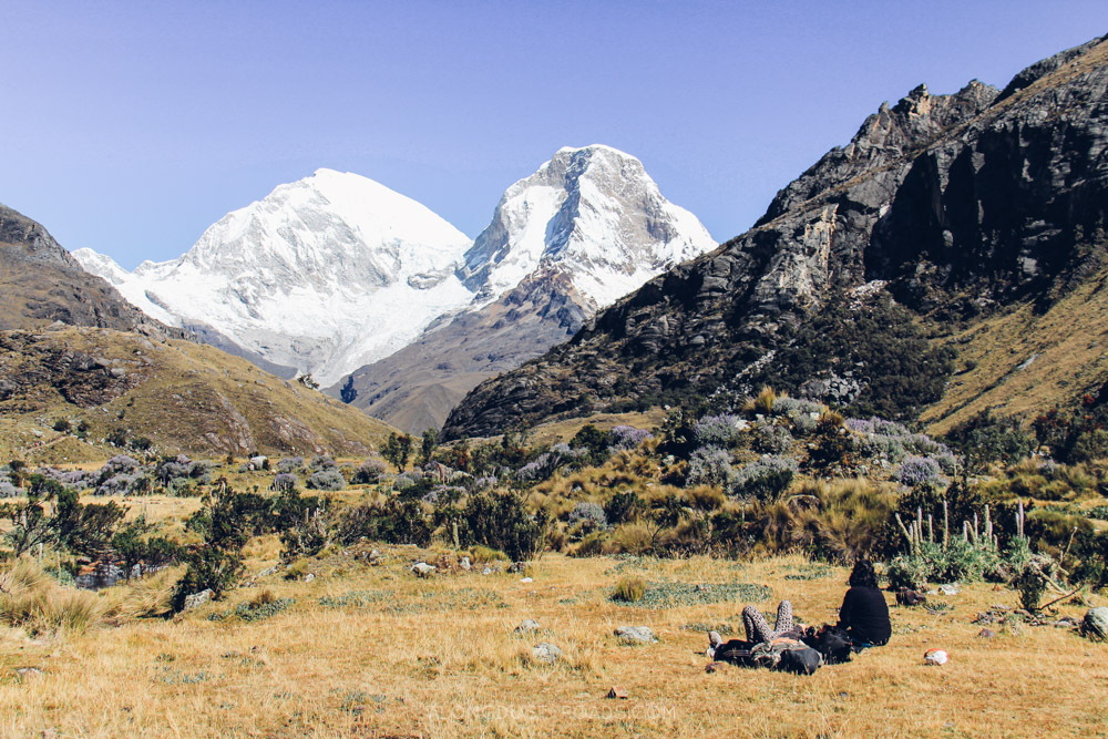 Beautiful hiking in Huaraz, Peru