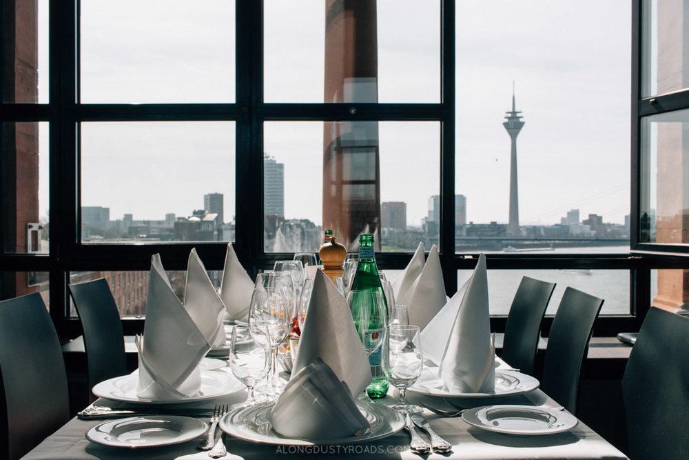 Best view, Düsseldorf, Germany