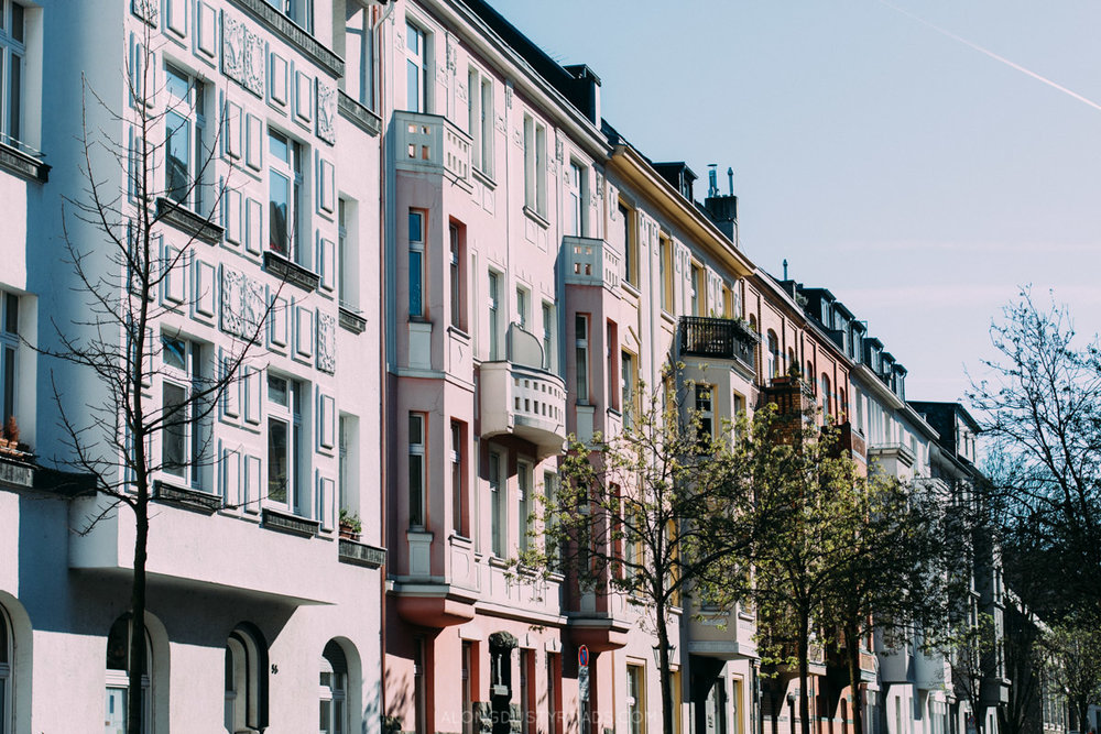 Bilk, Hipster District, Düsseldorf, Germany