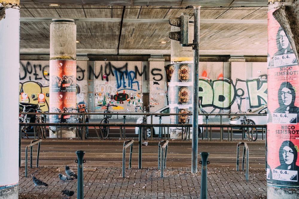 Hipster District, Düsseldorf, Germany