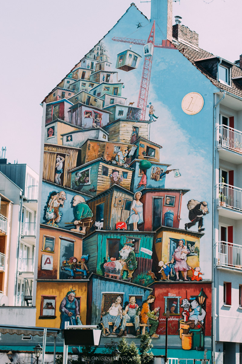 Things to do in Düsseldorf - Street Art House, Düsseldorf, Germany