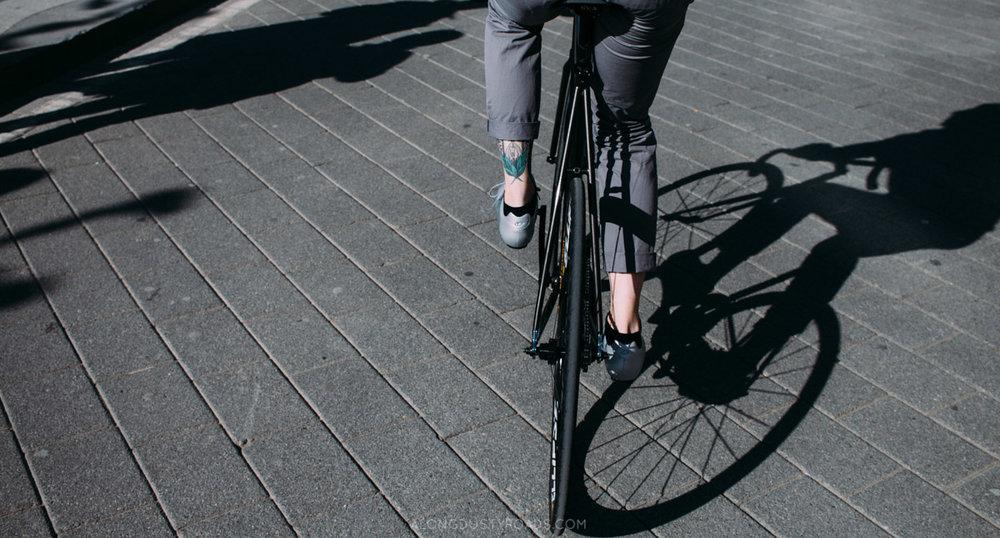 Cycling in Düsseldorf, Germany