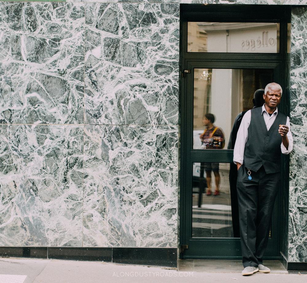 Cool dude, Paris, France