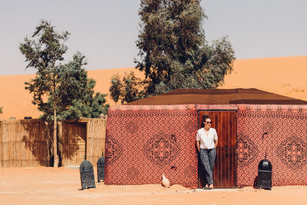 Ali and Sara's Desert Camp, Merzouga, Morocco