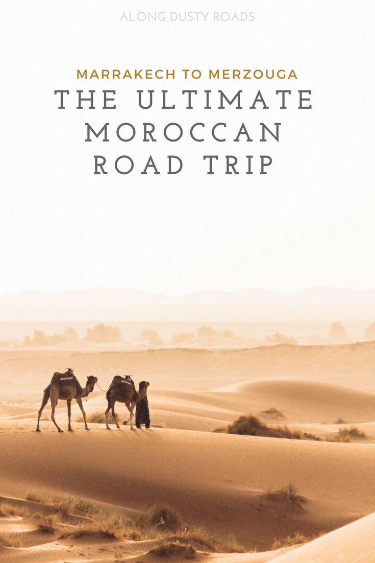 Tours are okay, but the real way to experience Morocco is on an awesome road trip! Here is our itinerary from Marrakech to Merzouga.