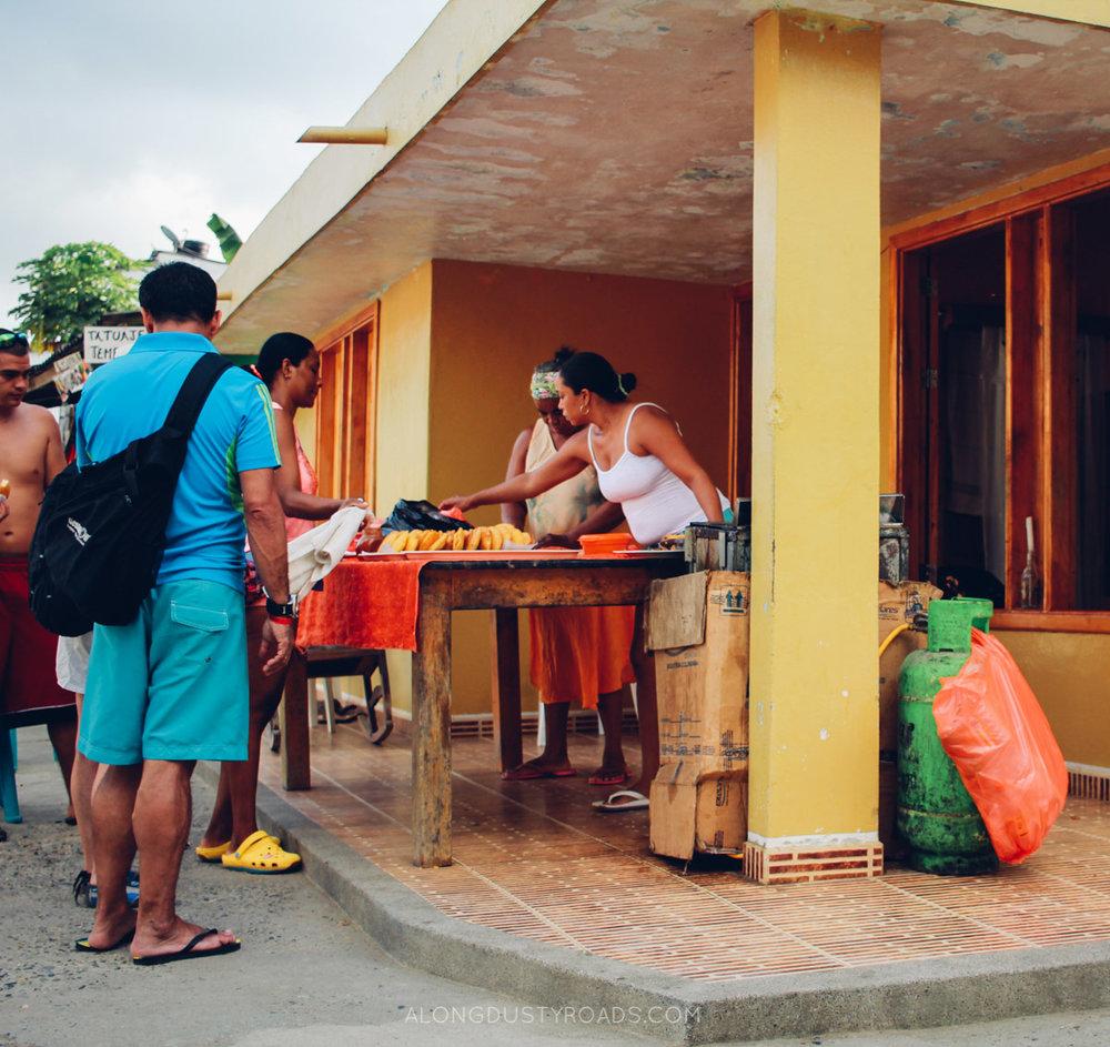 Fish empanadas, Capurgana, Colombia