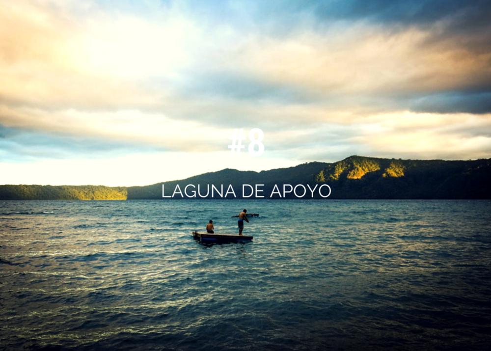 Top things to do in Nicaragua - Laguna de Apoyo