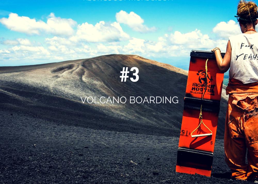 Top things to do in Nicaragua - volcano boarding leon nicaragua