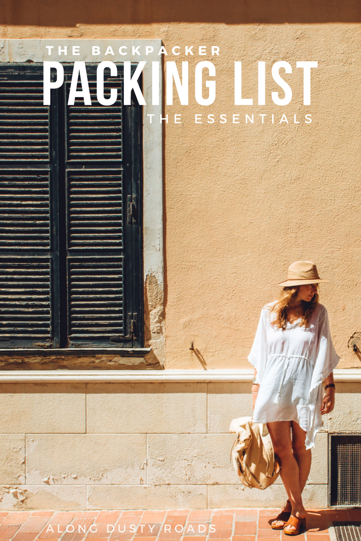 Off backpacking? This is the packing list that you need!