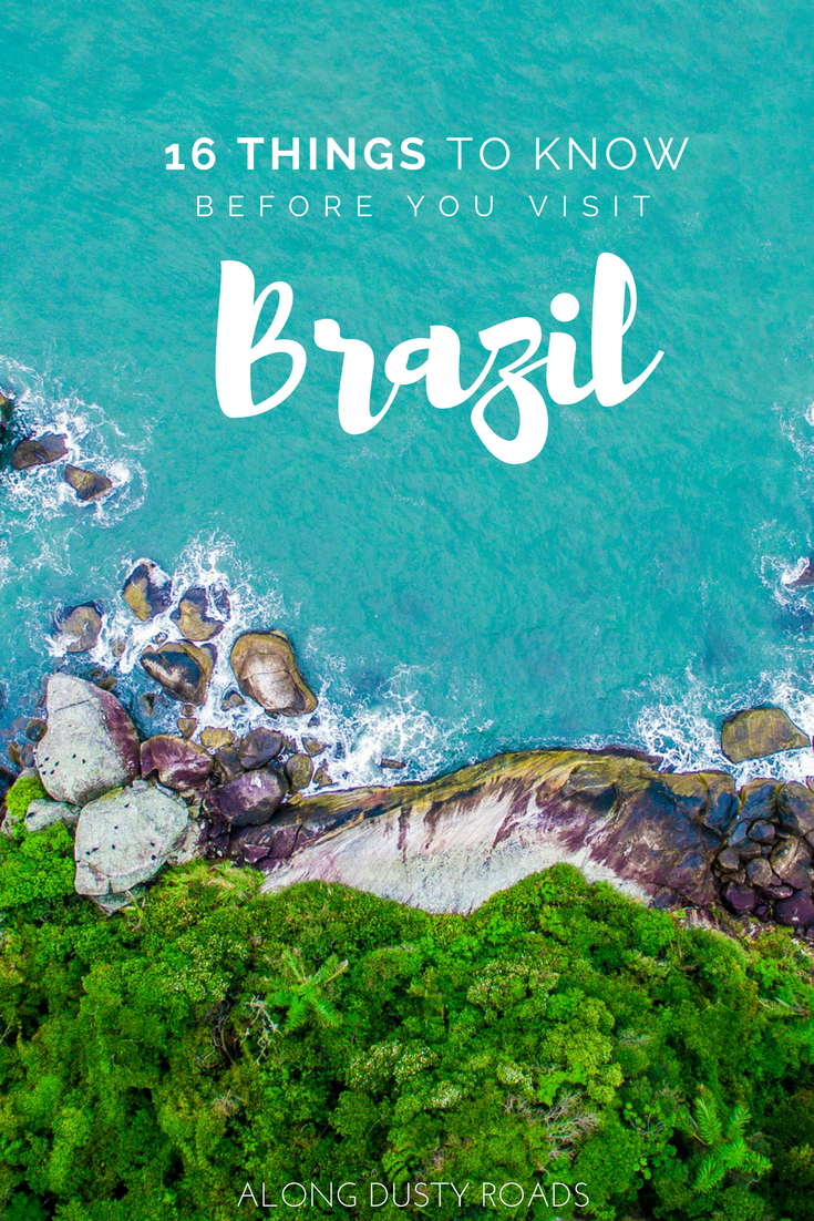 Here are 16 incredibly useful things to know BEFORE you travel to Brazil!