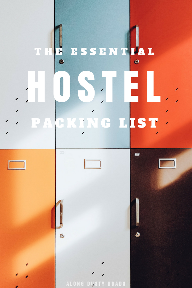 A few of the essentials that will make a hostel stay that little bit better! | Backpacking | Hostel Packing List | Hostels | What to Pack