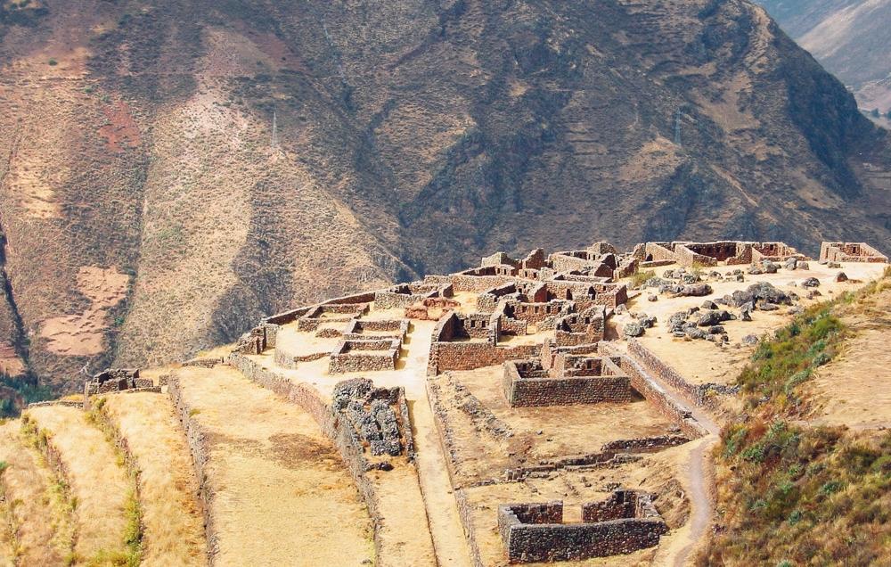Peru ruins - Pisac Ruins, Peru