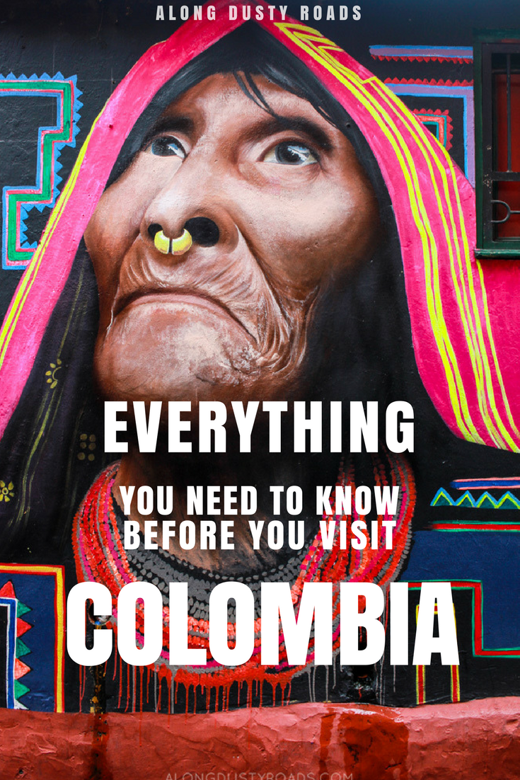 Booked your trip to Colombia? Here are 23 things you absolutely need to know before you go. Colombia travel | Backpacking | Food | Culture | Beaches | Safety | Female travel | Women travel | Coffee | Carnival | Medllin | Cali | Cartagena | Bogota | Salento