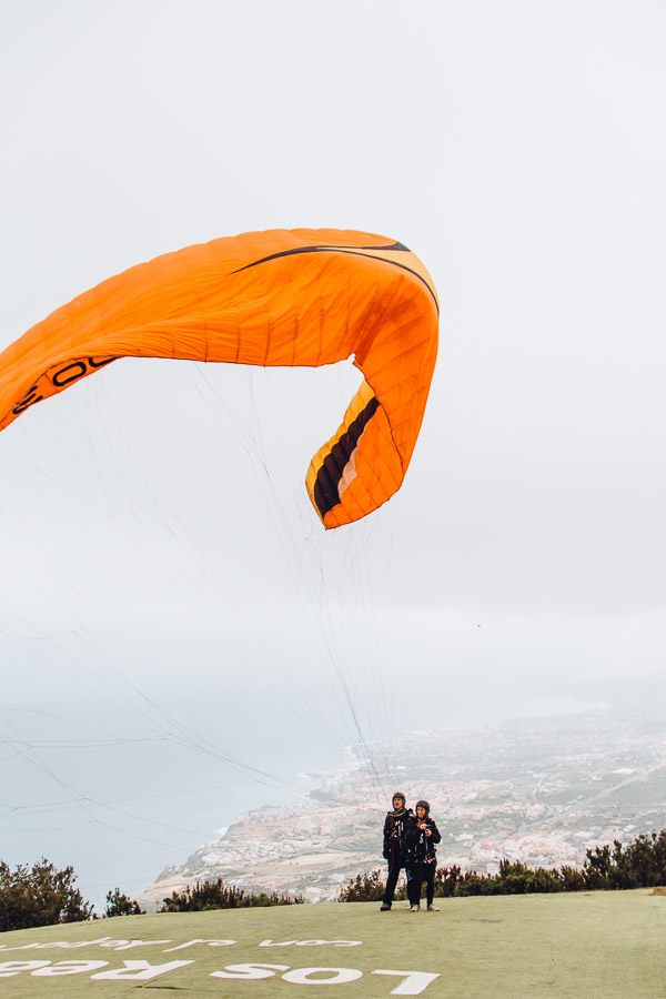 Activities Tenerife - Paragliding
