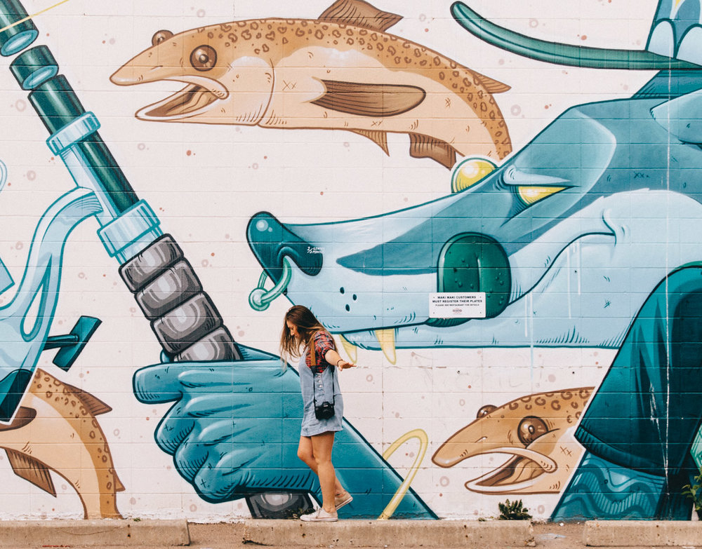 Street Art on Whyte | Things to do in Edmonton, Alberta, Canada