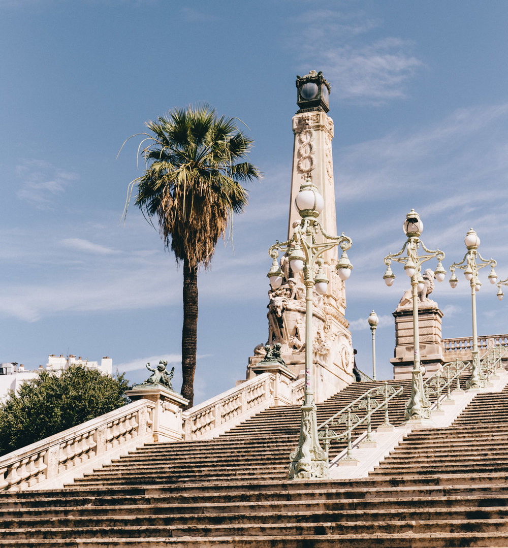 Gare St Charles Staircase - Things to do in Marseille