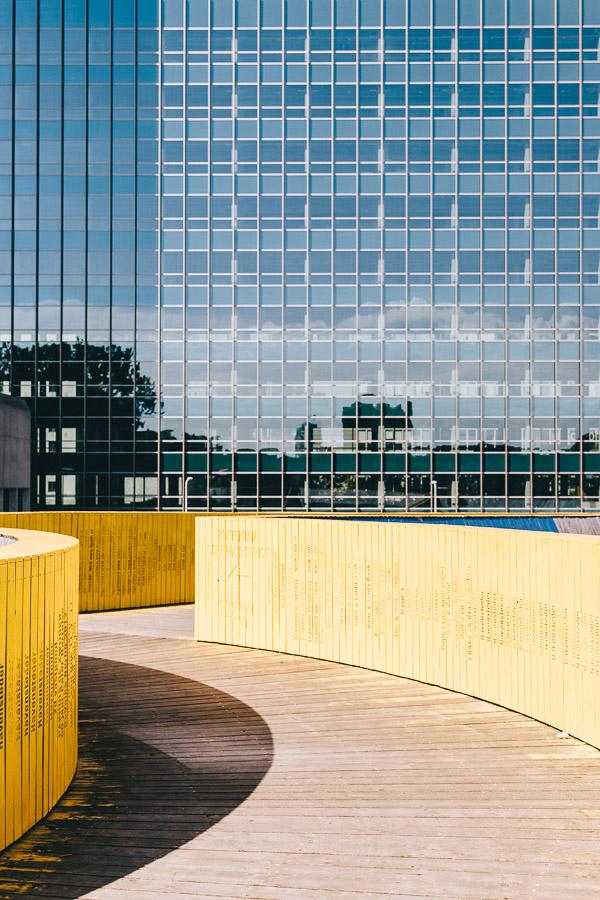 Things to do in Rotterdam - Yellow Bridge - Luchtsingel