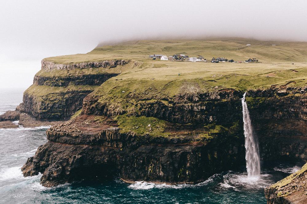Gasadalur Waterfall Hike Faroe Islands