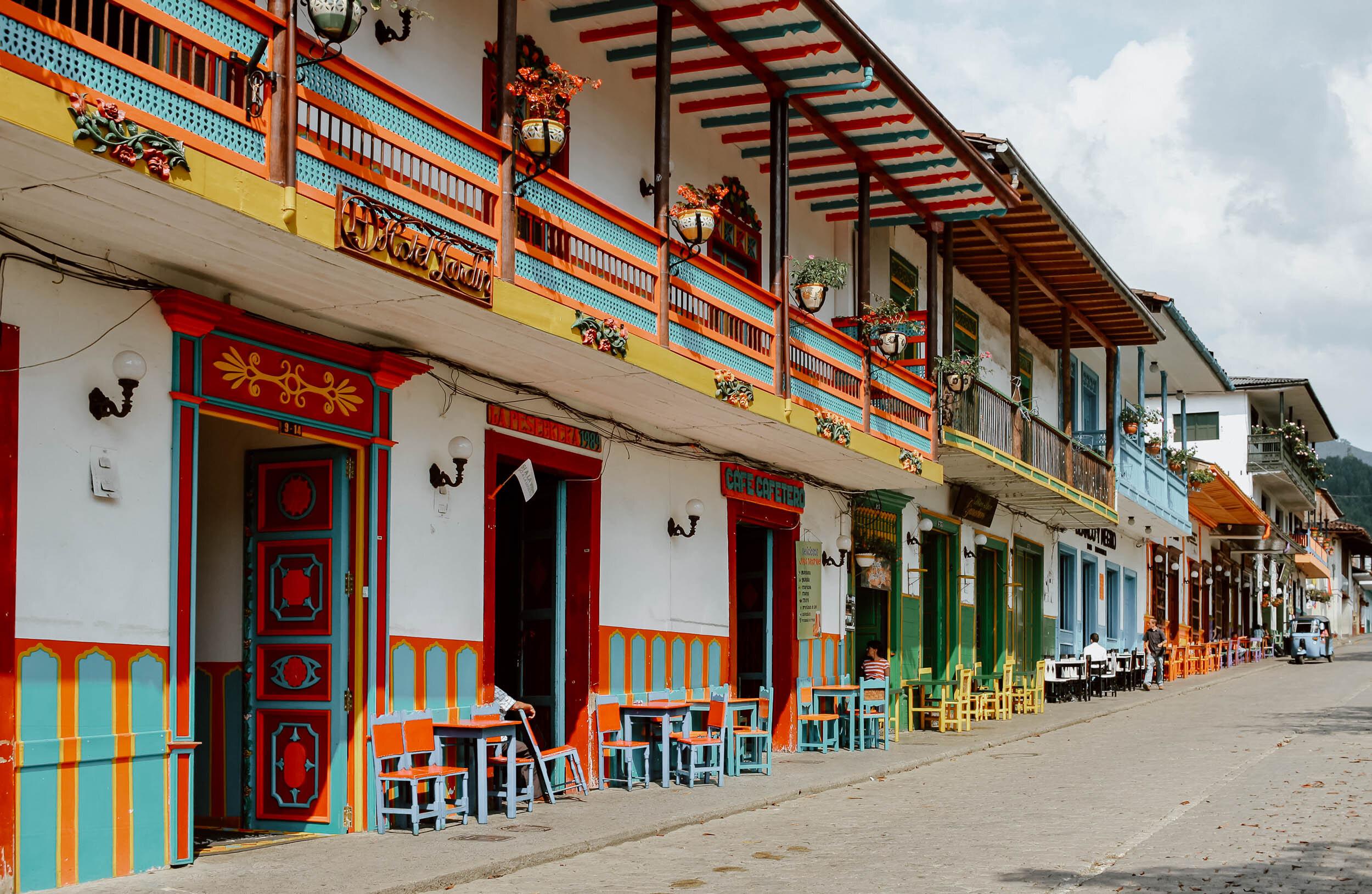 Jardin Our Favourite Town In Colombia Along Dusty Roads