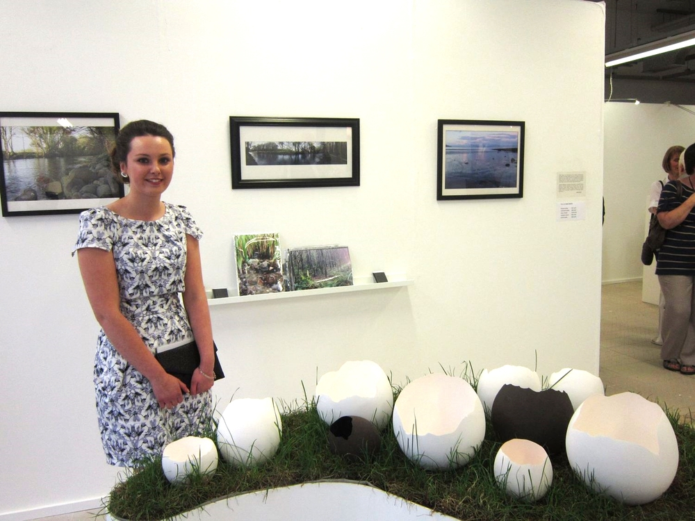 Contemporary Applied Arts Degree Show Exhibition with Sasha McVey and Echo collection