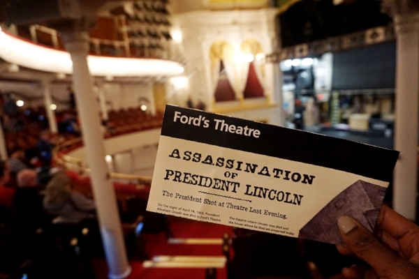 📍Ford Theater, Washington D.C. - The Ford Theater is where the assassination of President Lincoln took place. The location includes the president's timeline during office & the day he was assassinated.