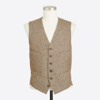 BIRDS-EYE-TWEED-VEST