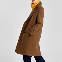 ZARA-TOFFEE-COAT
