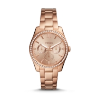 FOSSIL-ROSE-GOLD-WATCH