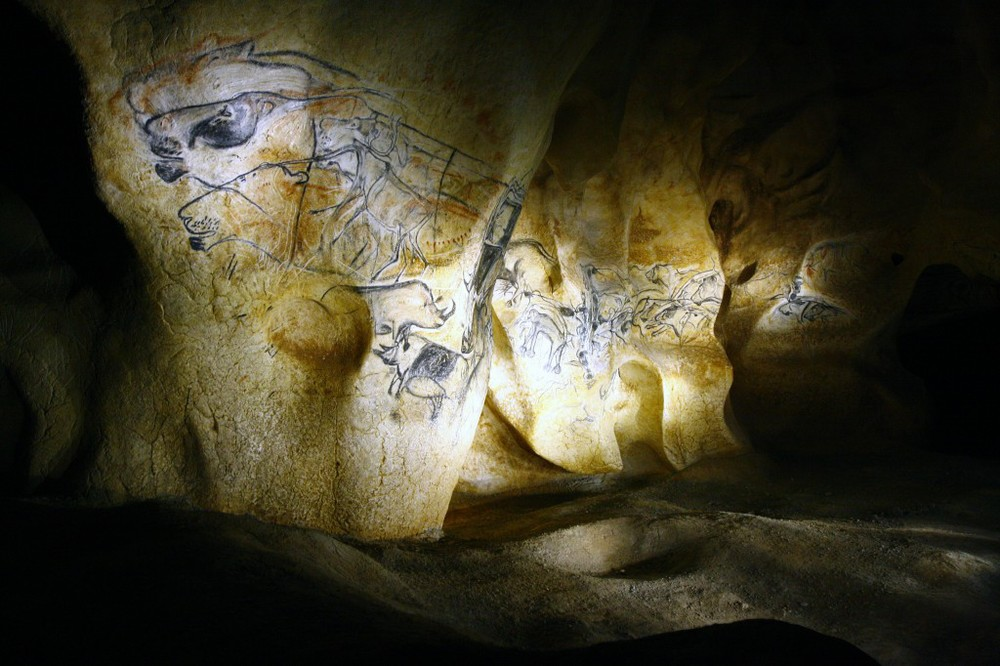30,000+ years old cave painting