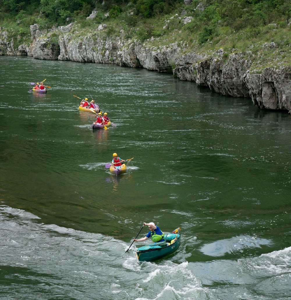 Two-day Guided Descent of the Ardeche