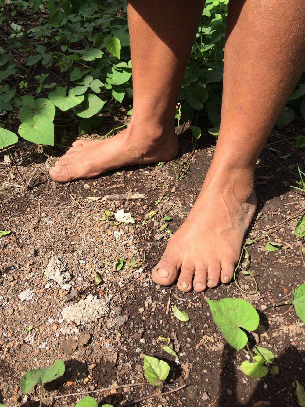 Juana's Feet