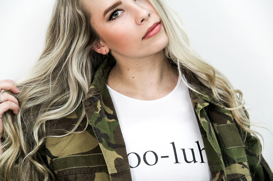 Krooluhv Camo Jacket and Crop-Top