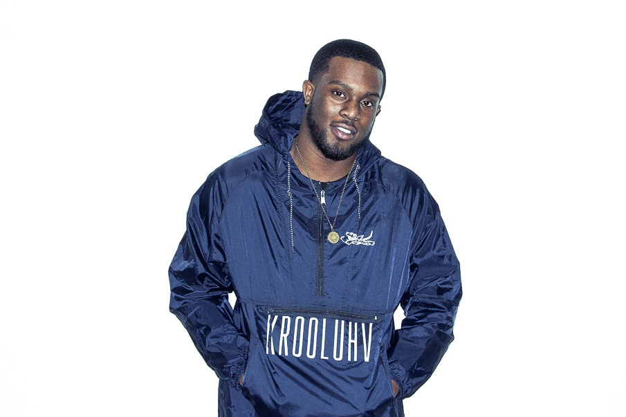 Krooluhv Worldwide Navy Windbreaker